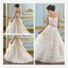 Goingwedding ruffle skirt wholesale designer wedding dresses with long train 2013 MR041
