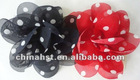 2013 new arrival and most popular chiffon flower salon clips