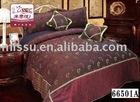 Jacquard comforter set/ lace /pendent bedding set,quilt