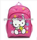 Baby&kids cheap school bags pink Kitty backpack HS18-hello kitty