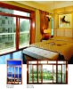 Window -Janpanese lever handle out-swing solid wood window