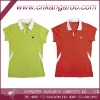 Ladies' 100%cotton pique sports Polo Shirt