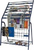steel tube newspaper shelf