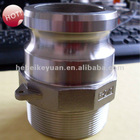 2-1/2inch ss quick couplings F