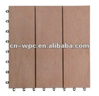 solid eco-friendly wpc flooring board