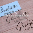 Gloss gold metal transfered stickers
