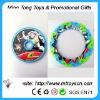 Plastic foldable frisbee