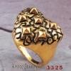 Heart shape alloy rings NO.11071905_3325