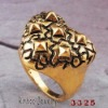 Heart shape alloy rings NO.11071905_3325