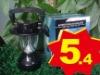 3.6v/500MA Solar camping light hand