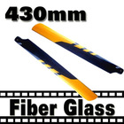 Trex 500 main rotor balde 430 mm Glass Fiber Blade