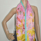 silk PAJ fashion silk scarf