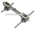 tiller accessories double drive gear box