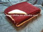 100% polyester Velour + Sherpa blanket