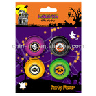Party Favor 4pk Halloween mini Yo Yo