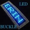 Blue Light LED buckle