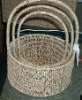 seagrass storage basket,seagrass drawer,seagrass basket,fruit basket,seagrass furniture,rattan furniture,seaweed basket