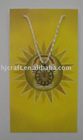 Fashion religionary of brass necklace