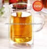 Borosilicate Glass Double Wall Glass Cup