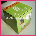 Dueable paper boxes for LED bulbs packaging