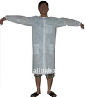 nonwoven gown,medical clothes,disposable garment