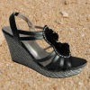 Women High Heel Beaded Sandals 2013