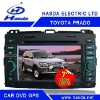 TOYOTA Prado Car DVD player with GPS