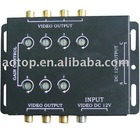 Video Booster, Video Amplifier, Car Video,Channel RCA Video Booster 8 channel RCA Video Booster