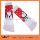 Snowman Christmas Sock