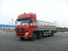 CIMC LINYU fuel tanker truck with dongfeng chassis