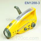 EM1288-3B CRANK DYNAMO AM/FM RADIO