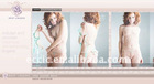 Creative and Professional online shop design for lingerie