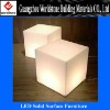 custom-made LED light furniture/translucent stone furniture