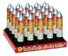 25 Shots Battery Rocket Cake