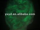 glow in the dark embroidery thread/photoluminescent silk/1.5D 3.8mm glow in the dark silk