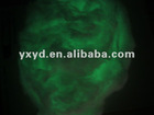 glow in the dark embroidery thread/photoluminescent silk/1.5D 3.8mm glow in the dark silk