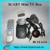 HD Mini SCART DVB-T TV receiver settop box for TV