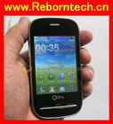 ipro Q70 cheap touch screen unlocked cell phone with analog TV