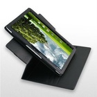 Rotary leather case with stand for Asus Eee Pad Transformer TF101