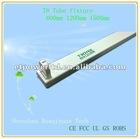 0.6m aluminium LED T8 tube casing/fixture