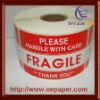 Handle with care Fragile Shipping Labels,small order accepted