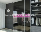 wardrobe with sliding mirror doors