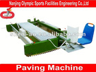 Paving Machine for Synthetic Running Track