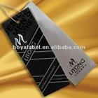 LI TONG fashion wear hang tag