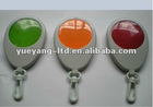 3 LED safety reflective warning light keychain with Carabiner/traffic light