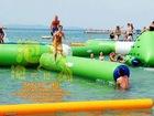 Inflatable Water Wooden bridge