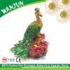 Peafowl design cheap jewellery box for gift