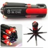 8 in one Multi Screwdriver for led tools light SWT01