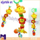 infant bendables activity plush musical hanging soft toys,baby squeaky soft toy,baby stroller toys