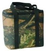 green 600d polyester cooler bag with zipper